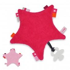 Labeldoekje Star-Tuttle Fuchsia Pink